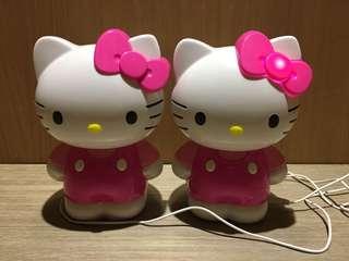 Hello Kitty音箱 電腦喇叭 電腦音箱 擴大機 喇叭 Hello Kitty 音樂喇叭