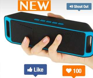 Wireless Bluetooth Speaker (Support Bluetooth, TF card, USB)