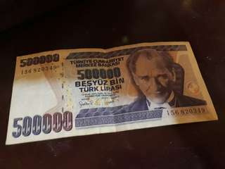 For sale money turkey lira
