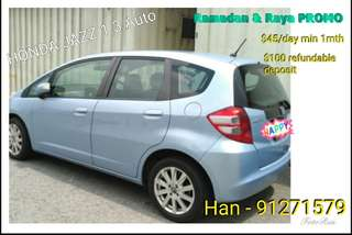 PROMO Honda Jazz 1.3A Car Rental