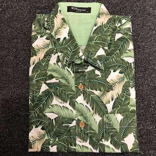 Bananas leaf botany shirt