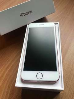 iPhone7 128g Rose