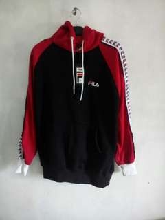 Jaket sweater hoodie FILA vintage premium
