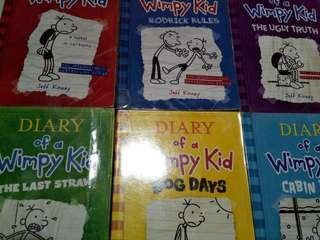 Diary of a Wimpy Kid 1-6