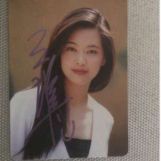 yes card 王馨平親筆簽名