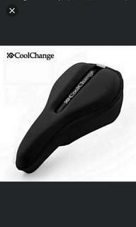 🆒🆕 CoolChange Mountain bike comfortable saddle cushion road bike bicycle high-elastic breathable cushion cover 👼Super - Comfy, Can Be Used On Bicycle, Scooter Saddles