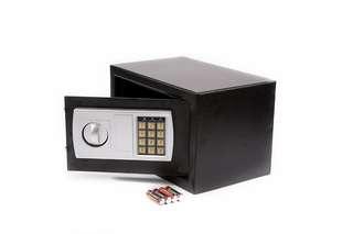 CLEAR STOCK Safe Box Digital SAFE cash box master key keypad number safe