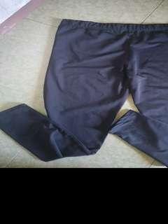 Black leggings - XL
