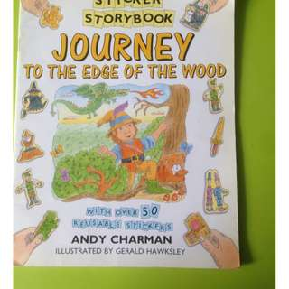 Children story sticker books