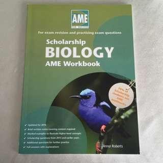 Scholarship Biology AME Workbook || 2017