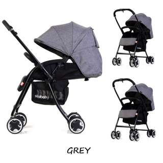 ★2018 new arrvial★ Authentic seebaby T09A lighter wider stroller/pram /one-second folding system