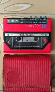 Sony cassette 機 日本製造 經典珍藏