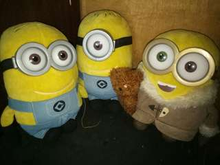 Original Minions stuffed toy