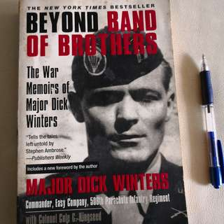 A NY Times Bestseller : Beyond Band of Brothers