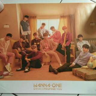 Poster Official Wanna one IPU day vers.