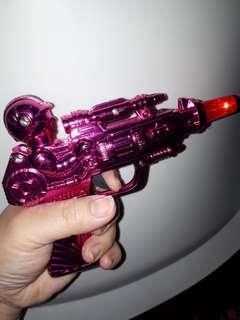 Toy gun with light m sound