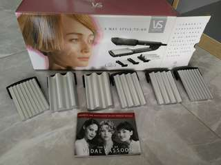 Vidal Sassoon hair curling plates
