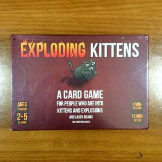 Exploding Kitten (Safe Version)
