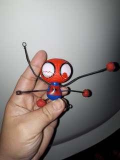 Spiderman sticky feet