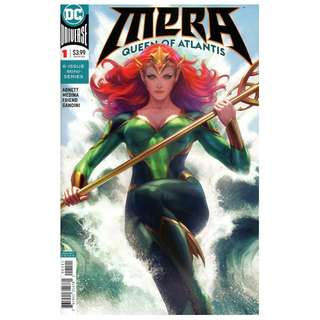 MERA QUEEN OF ATLANTIS #1 ( Artgrem Variant )