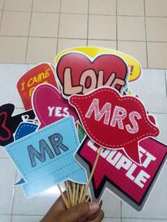 PHOTO PROPS RM1.80/PCS