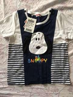 Snoopy短袖100公分