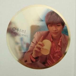 Kang Daniel wanna one mirror card