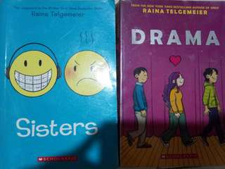 Sisters and Drama by Raina Telgeimer