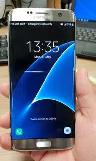 Samsung S7 edge. 100% look new.