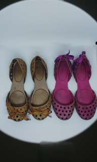 Melissa Jelly Shoes Size 5 bundle