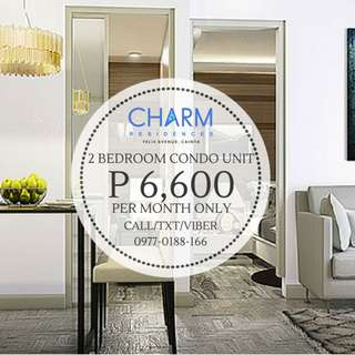 Charm Residences Condo by SMDC at Felix Ave., Cainta, Rizal