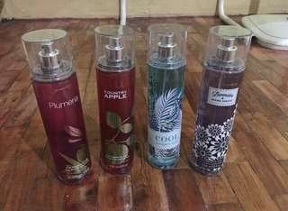 BATH AND BODY WORKS AUTHENTIC PERFUMES