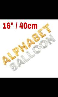 """Alphabet and Number Balloon 16"""""""