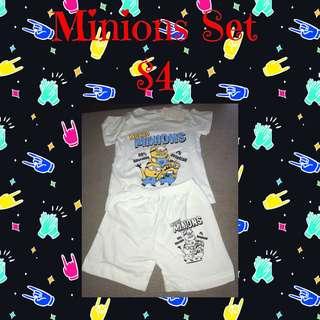 Minions T-shirt & Shorts Set