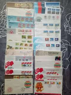 First Day Covers (Total:44 pcs)