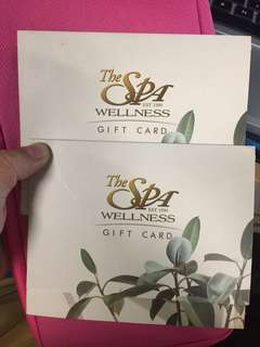 The Spa Gift Card worth 2000