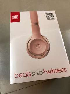 全新 beats solo wireless3
