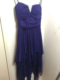 Purple Formal Dress (Size 8)