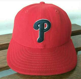 Vtg PHILADELPHIA PHILLIES x New Era Fitted Hat