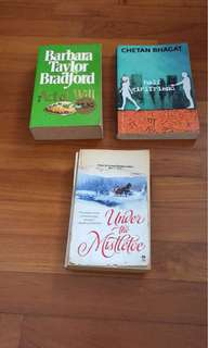 Adult fiction book(all for$5)