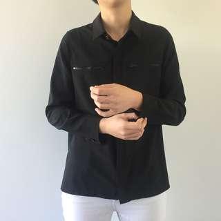 BOUTIQUE Zip Pocket Shirt