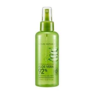 [PREORDER] Aloe Vera 92% Soothing Gel Mist (150ml)