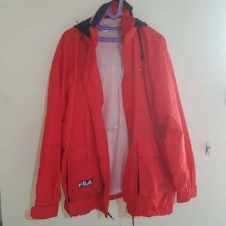 FILA red jacket