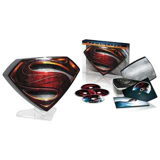 Superman Man Of Steel 3D Limited Collector's Edition