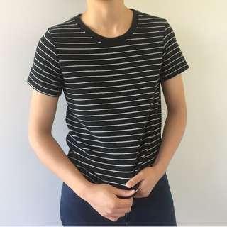 ZARA Stripe Knit Tee