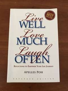 Live Well Love Well Laugh Often