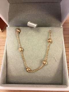 Arte rose gold bracelet