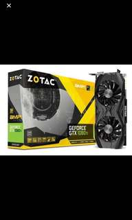 Zotac GTX 1080ti AMP edition 11GB