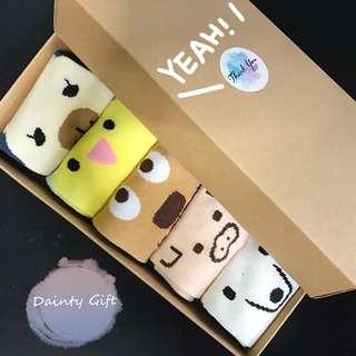 Korean Animal Socks Set