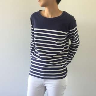ZARA Stripe Cotton Top